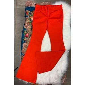Rag & Bone Blood Orange Flare pants